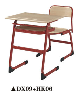 School Furniture/New Design School Desk and Chair (DX09+HK06) pictures & photos