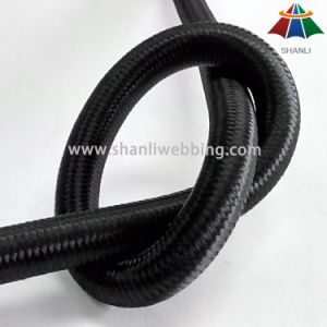 10mm Black Elastic Bungee Rope for Exercise pictures & photos