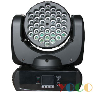 36X3w Mini RGBW LED Beam Moving Head Stage DJ Lighting