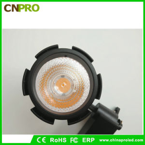 White Black Housing 30W COB Spotlight Ceiling Light LED Track Light pictures & photos