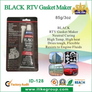 Hot Black High Temperature RTV Silicone (ID-128) pictures & photos