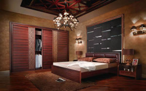 Particle Board Wardrobe Bedroom Furnitures (zy-049) pictures & photos