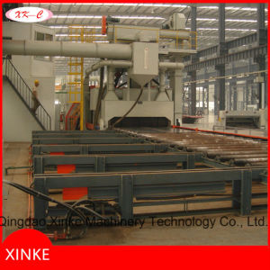 Metal Plate Pill Shot Blast Clean-up Machine pictures & photos