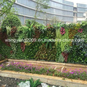 Fake Synthetic Artificial Evergreen Wall