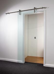 Frameless Glass Sliding Door & Barn Door (PR-D59) pictures & photos