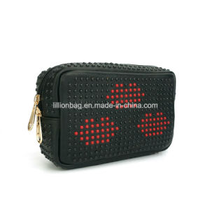 High Quality Newest Designer Women Handbag Leather Cosmetic Bag pictures & photos