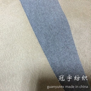 Suede Fabric with Hot Stamping Treatment pictures & photos