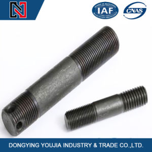 High-Reliable Black DIN938 Double End Studs for Construction Machinery pictures & photos