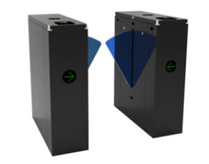 Power Coated Steel Rolled Housing Automatic Flap Barrier Turnstile Th-Fgb228 pictures & photos