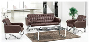 Hot Sells Concise Modern Style Leather Office Sofa (NS-S8805) pictures & photos