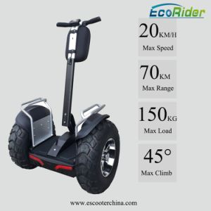 Mobility Scooter Electric Double Battery Adults off Road Electric Scooter pictures & photos