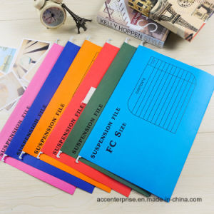 High Quality Printing White Cardboard Suspension Paper/Hanging File pictures & photos