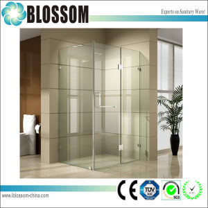 Folding Simple Hinge Glass Bathroom Frameless Shower Room pictures & photos