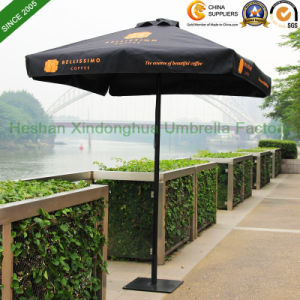 2mx2m Black Aluminium Patio Garden Umbrella for Australia Market (PU-2020A) pictures & photos