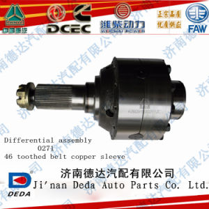 46 Teechs 0271 Type Differential Gear Case for Heavy Truck