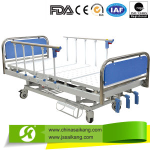 Professional Service Detachable Hospital Manual Bed pictures & photos