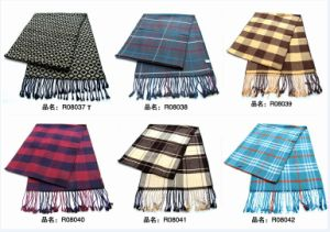 New Design Men′s Fasion Viscose Scarf (08037-08042) pictures & photos