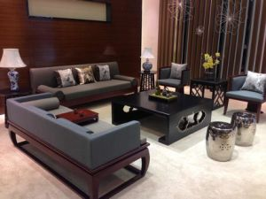 Hotel Furniture/Hotel Luxury Sofa/Hotel Living Room Sofa/Canteen Sofa/ Luxury Modern Hotel Lobby Sofa (NCHS-GL1002) pictures & photos