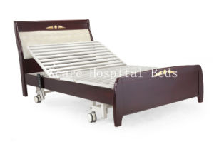 Wooden Electric Three-Function Home Care Bed Picture pictures & photos