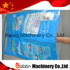 Laundry Powder Pouch Making Machine with Finger Holes Punchers pictures & photos
