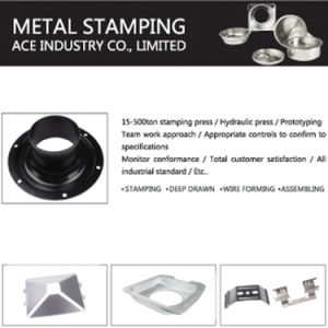 Hot Customized Aluminum Metal Stamping pictures & photos