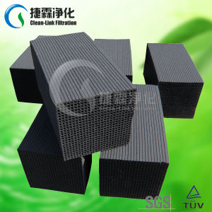 Black Color Activated Carbon Filter pictures & photos