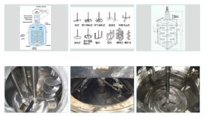 Stainless Steel Liquid Mixing Tank with Steam Heating Jacket pictures & photos