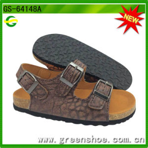 New Arrival Children Cork Sandals for Summer (GS-64147) pictures & photos