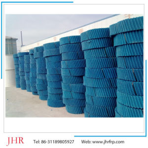 500*1000mm Blue PVC Fillings PVC Sheet for Cooling Towers pictures & photos