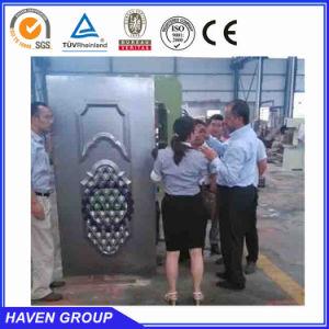 Steel door enbossing machine press machine pictures & photos