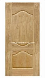 Wood Veneered HDF Molded Door Skin, Composite HDF Door Skin pictures & photos