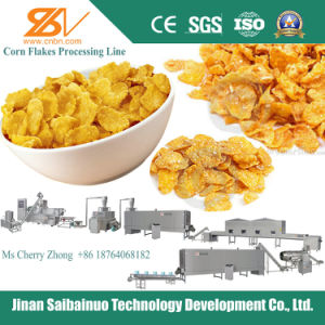Corn Cereals Snacks Flakes Processing Line pictures & photos