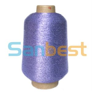 Beautiful Color Metallic Embroidery Thread with Rayon Core Yarn pictures & photos