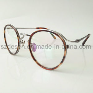 Newest Style Antique Round Frame Tortoise Shell Eyewear Optical Frame pictures & photos