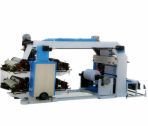 Yt 4 Color High Quality Non Woven Flexo Printing Machine pictures & photos