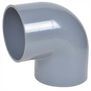 PVC Pipe 90 Deg. Elbow Fitting pictures & photos