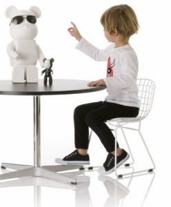 Italy Designer Knoll Kids Children Baby Furniture Diamond Chair pictures & photos