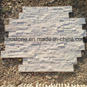 18X35cm Pink Quartzite Decoration Material Stone Wall Cladding pictures & photos