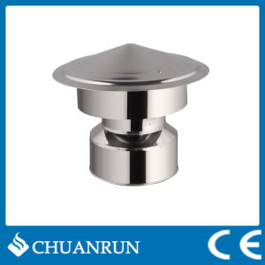 Stainless Double Wall Pipe Rain Cap for Pellet Stoves pictures & photos