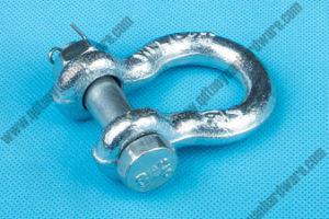 Factory Supplier Rigging Hardware Galvanized European Type Bow Shackle pictures & photos