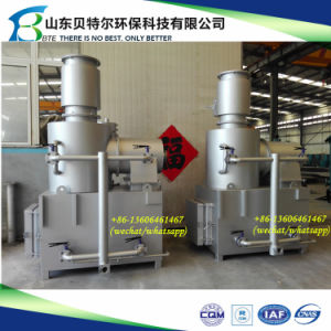 10-500kgs/Batch Hospital Garbage Treatment Burner, 3D Video Guide Incinerator pictures & photos