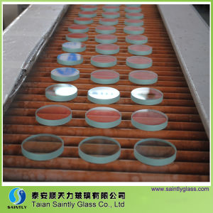 10 mm Clear Float Round Tempered Sight Glass pictures & photos