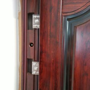 Exterior Stainless Safety Steel Door, Steel Door Frame (SC-S024) pictures & photos