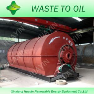 Waste Tire Pyrolysis Machine (D2600*L6600)