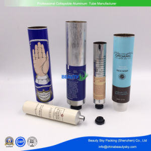 Cheapest Price Empty Custom Silver Blank Tube Cosmetic Aluminum Clear Test Tube for Label pictures & photos