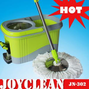 Joyclean Four Device Spin Magic Mop with Stainless Steel Pedal (JN-302) pictures & photos