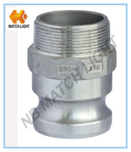 Stainless Steel Precision Casting Male BSPT Threaded Camlock Coupling pictures & photos