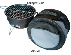 Camping Outdoor Round Grill Camping BBQ pictures & photos