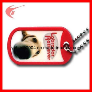 PVC Dog Tag for Garment (YH-PP009) pictures & photos