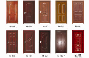 Melamine Paper Door Skin pictures & photos